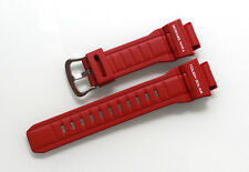 New Original Genuine Casio Wrist Watch Red Band Replacement Strap for G-9300RD-4