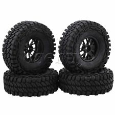 "4pcs 1.9"" Y Shape Wheel Rim+115mm Rubber Tire 12mm Drive for RC1:10 Rock Crawler"