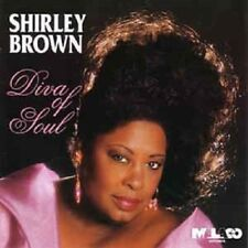 Shirley Brown - Diva Of Soul -  New Factory Sealed CD