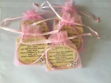 5 Unicorn Wish Bracelets With Organza Bag Party Bag Fillers Gifts Etc Freepost