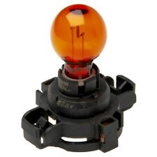 Light Bulb Round Amber Black Base 186A 12V 24W Py24W Spare 69690530 By Philips
