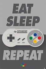 Pyramid International Nintendo (Eat Sleep Snes Repeat) -Maxi Poster