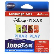 New Disney Pixar Play InnoTab Electronic Cartridge Language Nemo VTech Official