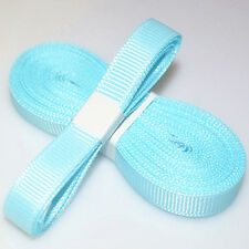 "5yds 3/8"" (10 mm) Sky blue Solid Christmas Grosgrain Ribbon Hair Bows Ribbion#"