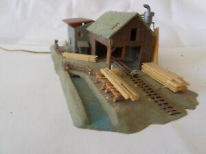 Maquette N Moulin et scierie avec moteur FALLER réf: 5429