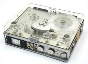 STELLAVOX SP 8 Stereo mit AMC Zählwerk Originalbroschüre& Anleitung, Ledertasche