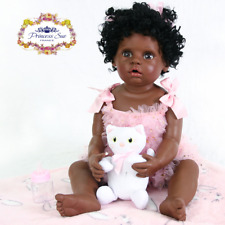 22'' Reborn Baby Doll Black African American Ethnic Biracial Toddler Gift Newest
