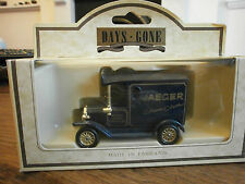 Lledo Days Gone Model T Ford Van with Jaeger Classic Cloths decals