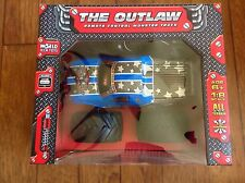 The Outlaw Big Wheel Off-Road 4x4 1:8 RTR Electric RC Monster Truck-Blue NEW
