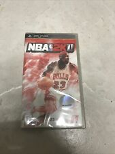 NBA 2K11 Sony PSP 2010 Play Station Michael Jordan Bulls Video Game New Sealed