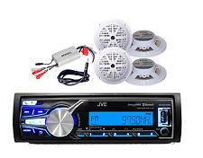 "KD-X31MBS iPod iPhone Control Bluetooth Radio 800W Amp,Antenna 4 x5.25"" Speakers"