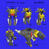 Dinobot Grimlock Toy Patent Unisex T-Shirt Autobots -Decepticons SXL-2XL
