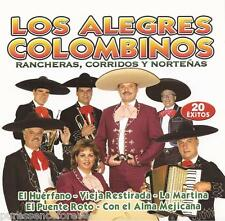LOS ALEGRES COLOMBINOS - Rancheras, Corridos Y Nortenas (EU 20 Tk CD Album)