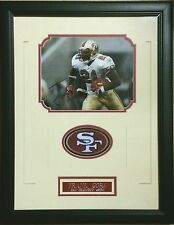 """Frank Gore signed 8x10 Framed 49ers """"All Time Leading Rusher"""""""