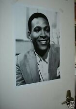 MARVIN GAYE EARLY PORTRAIT 1964 NEW B/W POSTER