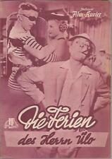 IFK Nr. 2404 Die Ferien des Herrn Ülo ( Jacques Tati )