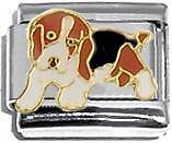 Italian Charm 9mm BEAGLE dog pup pet animal best friend