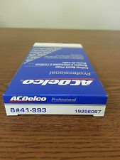 SET OF 8 AC DELCO 41-993 IRIDIUM SPARK PLUGS  (19256067)