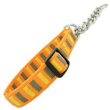 Zughalsband Dog Collar Nylon Collar Dog Collar Choke Chain with Chain Stemming