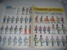 CORRIERE DEI PICCOLI N° 16 17/4/1966 CON FIGURINE TAMBURINI MAGGIORI E ITALIANI