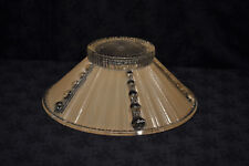 Vintage 1940s-60s Era Light Fixture Globe Consolidated Lamp? Heavy Shade