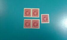 (5) Canada Stamp #267 King George VI 1943 4c