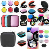 Earphone Nylon Case Card USB Cable Earbuds Storage Carry Headset Mini Pouch Bag