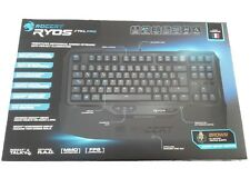 Clavier mécanique gamer keyboard ROCCAT  RYOS TKL PRO Cherry MX Brown