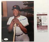 Jim Ray Hart Signed Autographed 8x10 Photo JSA Giants