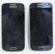 "2 x SAMSUNG Galaxy S4 Mini GT-I9195 8GB Sim Free 4.3"" Touchscreen Smartphones"