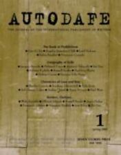 AUTODAFE Spring 2001 Journal Literary Review International Parliament Of Writers