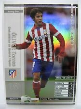 Panini WCCF 2013-14	YGS	ÓLIVER	Torres	Atletico Madrid	Rare refractor insert card