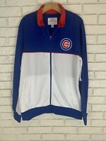Mens MLB GIII Chicago Cubs Long Sleeve Full Zip Jacket NWT LG