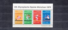 ALLEMAGNE Germany Bloc Feuillet Yvert N°  7 Neuf luxe Jeux Olympiques  MUNICH 72