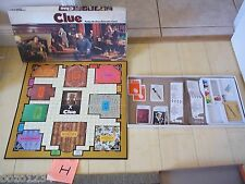 1972 PARKER BROS CLUE DETECTIVE BOARD GAME #45 AGES 8-ADULT 3-6 PLAYERS CLASSIC!
