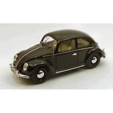VW BEETLE 1953 BLACK 1:43 Rio Auto Stradali Die Cast Modellino