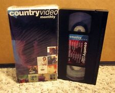 CONFEDERATE RAILROAD Asleep at Wheel CHARLIE FLOYD Guy Clark country videos VHS