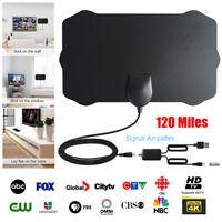 TDT 120 millas de rango Antena de TV DVB - T DVB - T2 Arial Receptor de TV HD