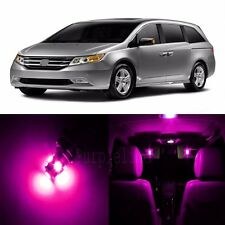 18 x Pink LED Lights Interior Package For Honda ODYSSEY 2011 - 2017 + Pry TOOL