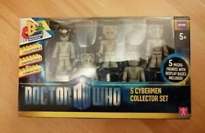 Doctor Who Micro Figures Pack Cybermen Collector Set
