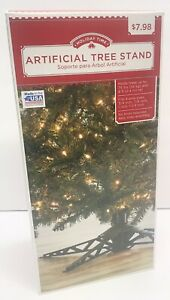 Holiday Time Artificial Tree Stand Up to 75lbs and 8ft tall Brand NEW USA