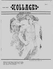 COLLAGE #20 - 1971 comics fanzine Hal Foster TARZAN George Barr -- uncirculated
