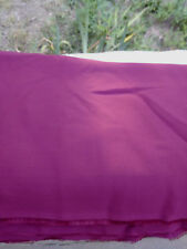 """Fabric Remnant Maroon Sheer Acetate 5 1/4Yds x 46"""""""
