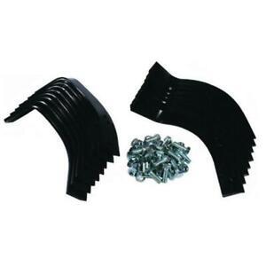 Rear Tine Tiller Tines w/Hardware Complete Rebuild Kit for MTD Sears Craftsman