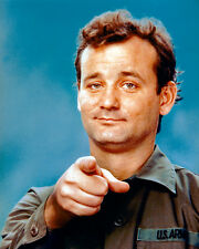 BILL MURRAY POINTING FROM STRIPES 8X10 COLOR PHOTO