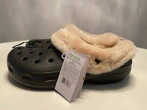 Crocs Classic Mammoth Luxe Clog 204211-011 Size Men's 13 New W/Tags