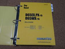 Komatsu D65EX/PX-15, D65WX-15 Dozer Bulldozer Service Shop Repair Manual