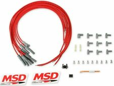 Msd 31189 Spark Plug Wires Spiral Core 85mm Multi Angle Boots Universal V8 Set
