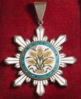 1912, China (Republic). Order of the Golden Grain (嘉禾). 3rd Class neck badge. R!