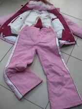 Girls NEXT salopettes jacket SKI SUIT age 11 12 years pink + gloves bundle warm